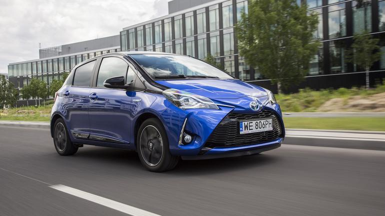 Toyota Yaris Hybrid Selection
