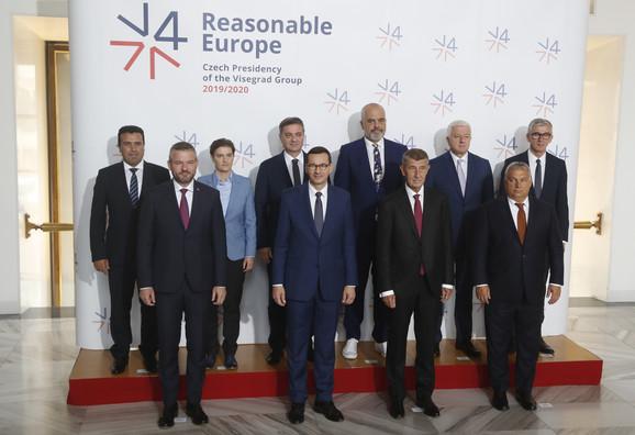 Samit Višegradske grupe u Pragu
