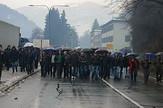 Protest malinara u Prijepolju