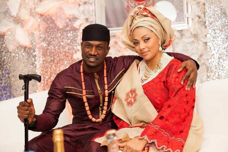 Lola Omotayo & Peter Okoye