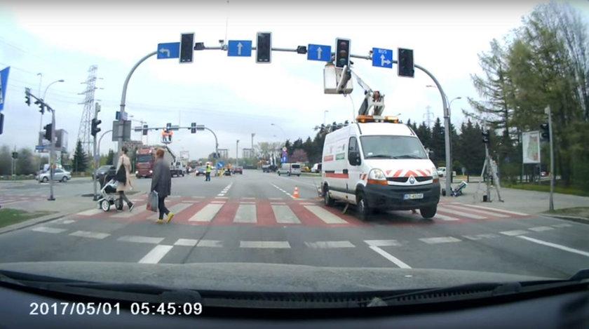 Policjant chciał ukarać kierowcę