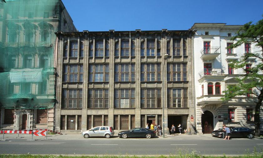 Stary komisariat w Łodzi