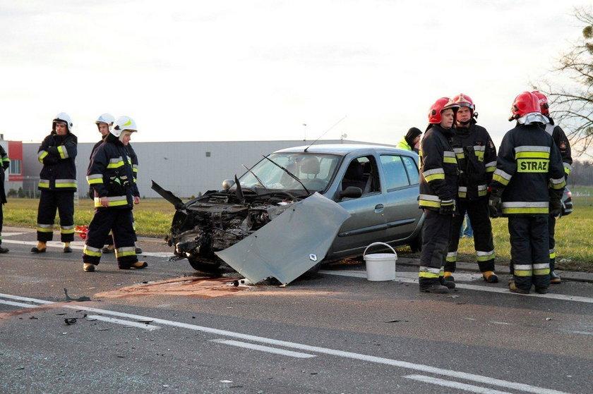 Wypadek na trasie Brzeg-Opole