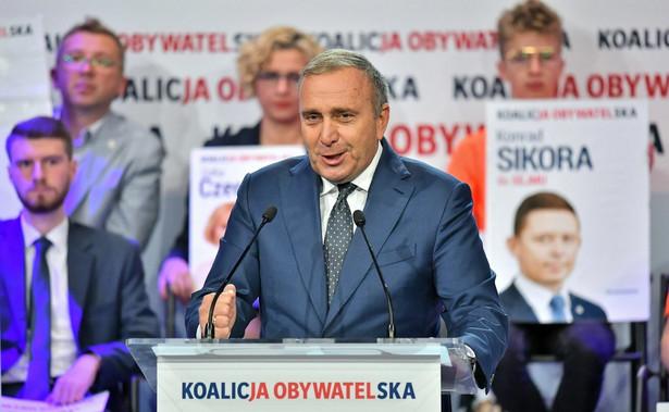 Przewodniczący PO Schetyna Grzegorz
