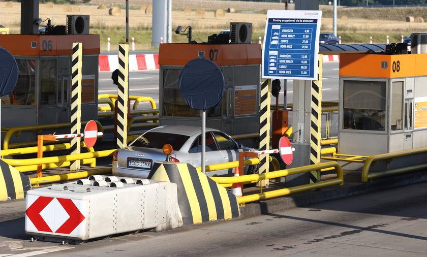 Koniec z otwieraniem bramek na autostradach?