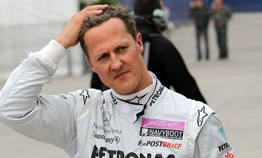 Michael Schumacher na zdjęciach za milion euro. Chcieli je sprzedać