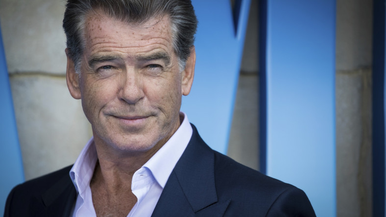 "Pierce Brosnan na premierze ""Mamma Mia! Here We Go Again"""