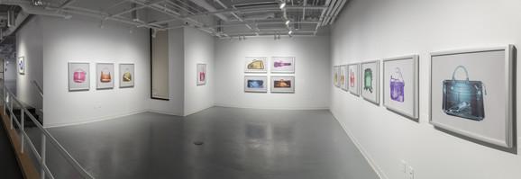 Blažo Kovačević nedavno je imao izložbu i u Doud galeriji na Državnom njujorškom univerzitetu u Kortlandu