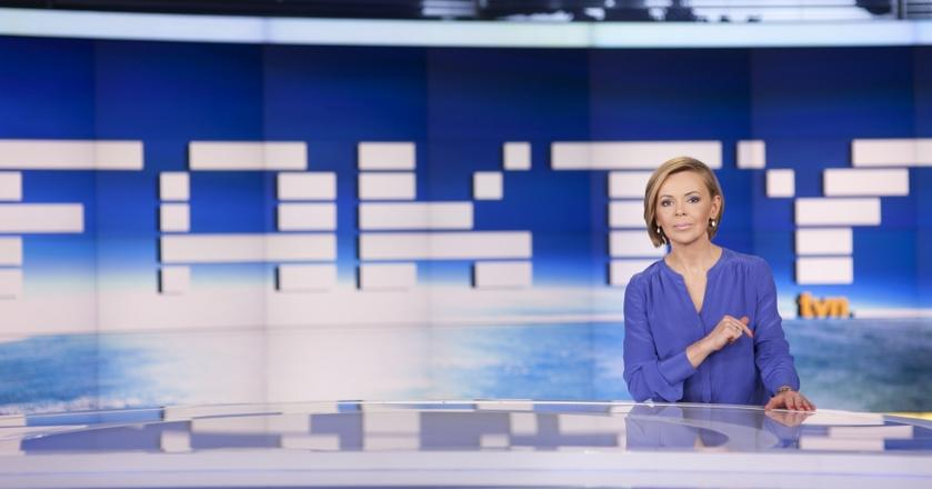 """Justyna Pochanke jest obecnie główną prowadzącą programu informacyjnego """"Fakty"""" TVN"""