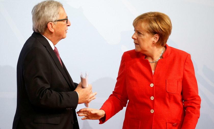 Angela Merkel, Jean-Claude Juncker