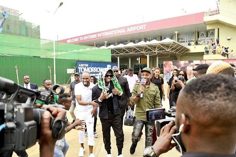 Diamond Platnumz in Uganda
