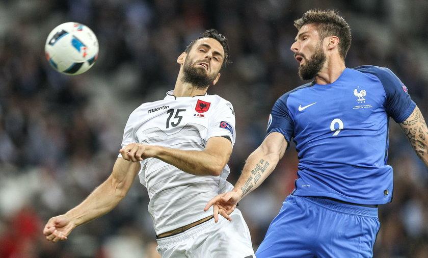 Francja cudem pokonała Albanię