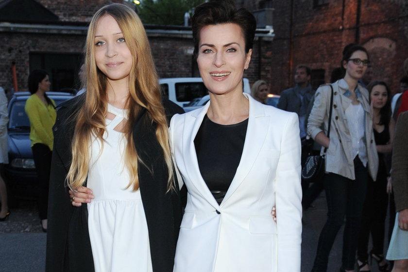 Danuta Stenka z córką