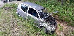Steczkowska miała wypadek. Kierowca nie miał prawa jazdy?