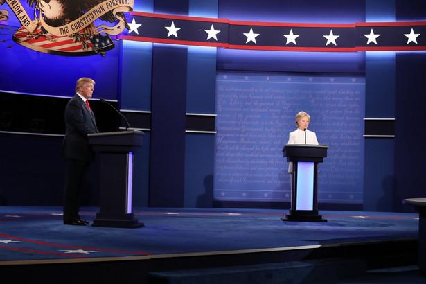 Ostatnia debata prezydencka Trump - Clinton