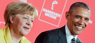 Obama w Niemczech: Pochwalił odwagę Merkel w kryzysie migracyjnym