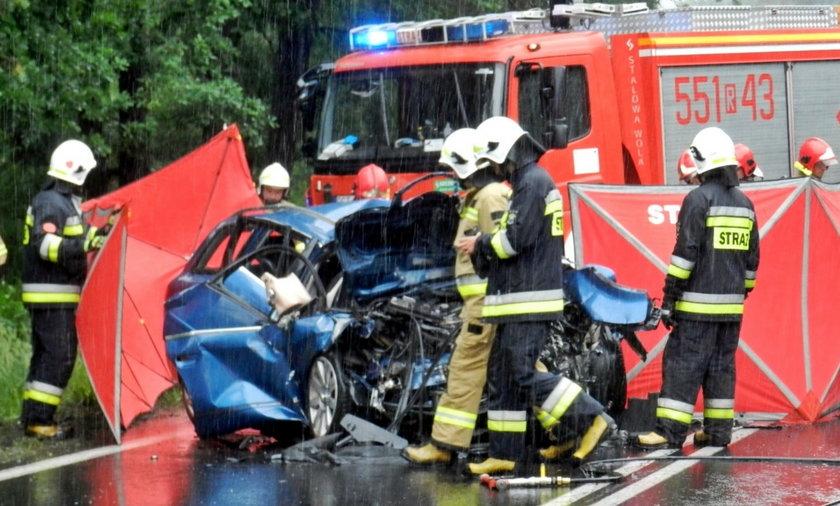 Koszmarny wypadek w Jamnicy.