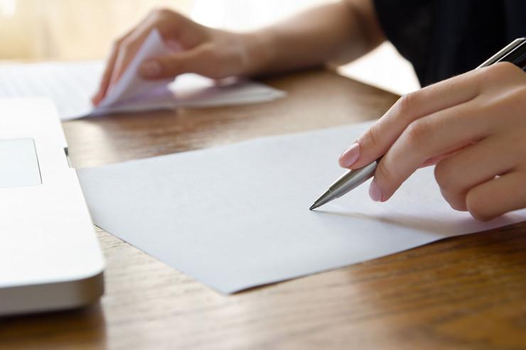 prazan papir