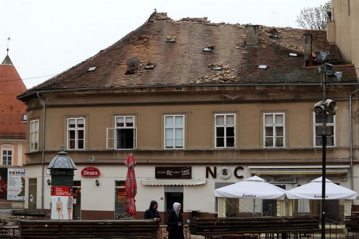 Zagreb, zemljotres