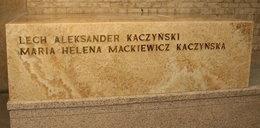 Błąd na sarkofagu prezydenckiej pary!