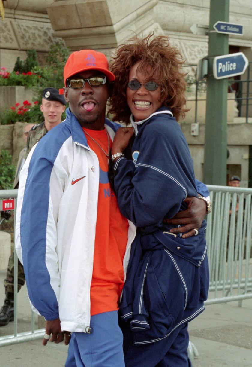 Whitney Huston i Bobby Brown