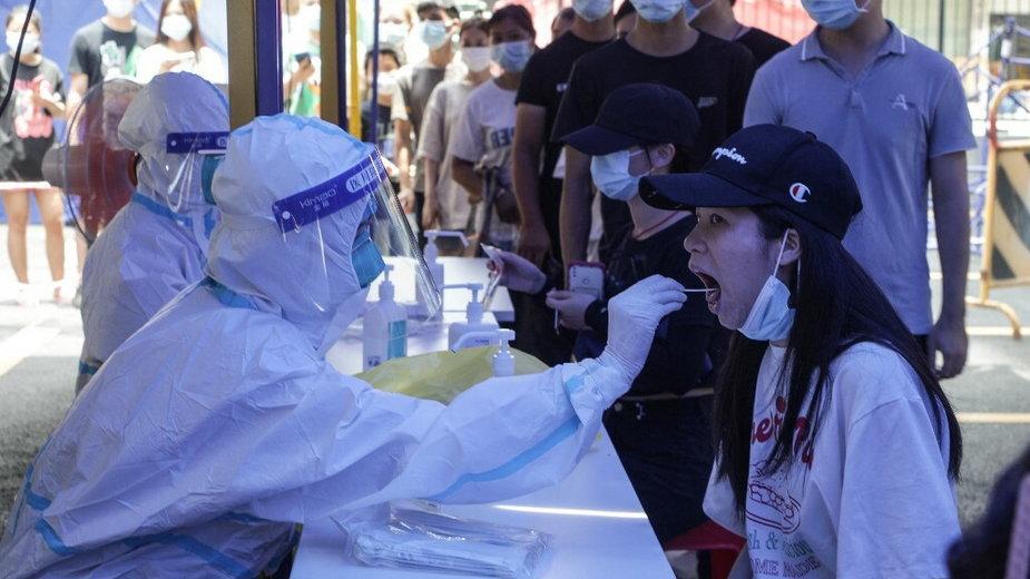 Chiny walczą z koronawirusem
