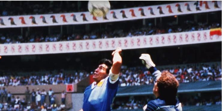 Maradona, Božja ruka