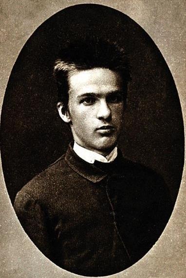 Józef Piłsudski w 1885 roku