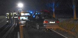 Pijany 52-latek wjechał w radiowóz. Są ranni