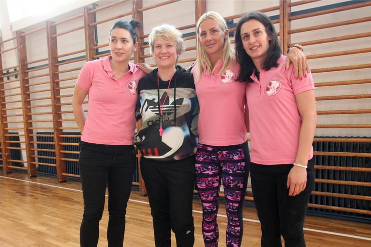 Marina Maljković, Dajana Butulija, Milica Dabović, Tamara Radočaj