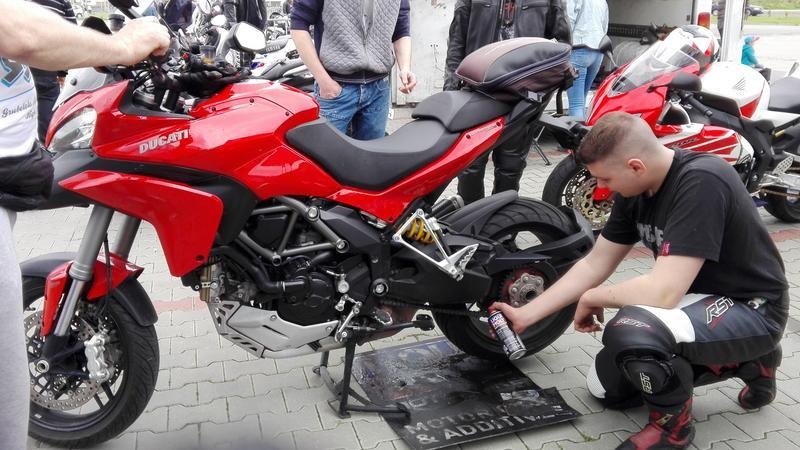 Serwisowanie motocykla