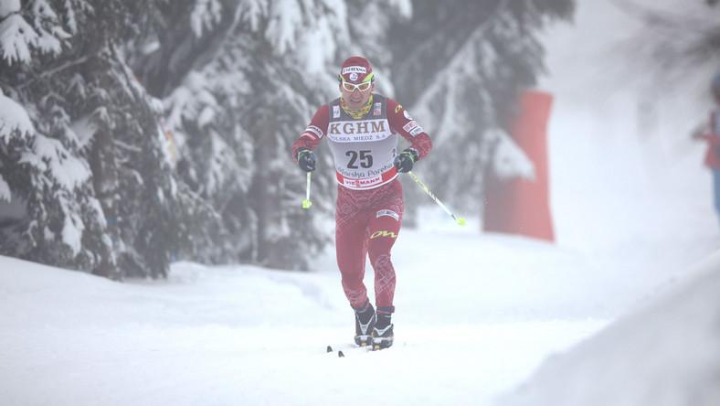 Bajcicak podczas zawodów Pucharu Świata w Szklarskiej Porębie w 2012 roku