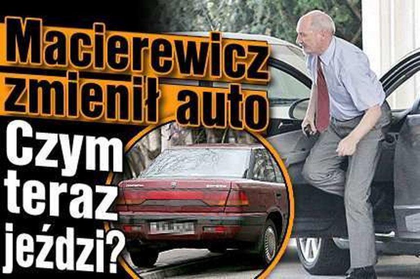 Macierewicz zmienił auto. Czym teraz jeździ?