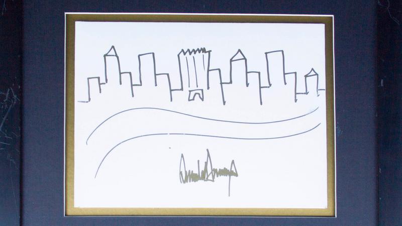 Szkic autorstwa Trumpa