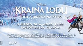 """""""Kraina Lodu"""" Disneya - film z muzyką na żywo w Krakowie"""