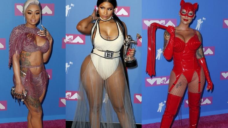 Te panie pokazały najwięcej ciała na gali MTV Video Music Awards 2018.