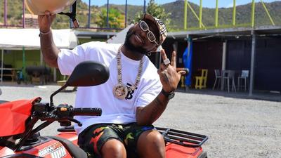 Man who dropped out of school in England thanks Davido for funding his education in Nigeria