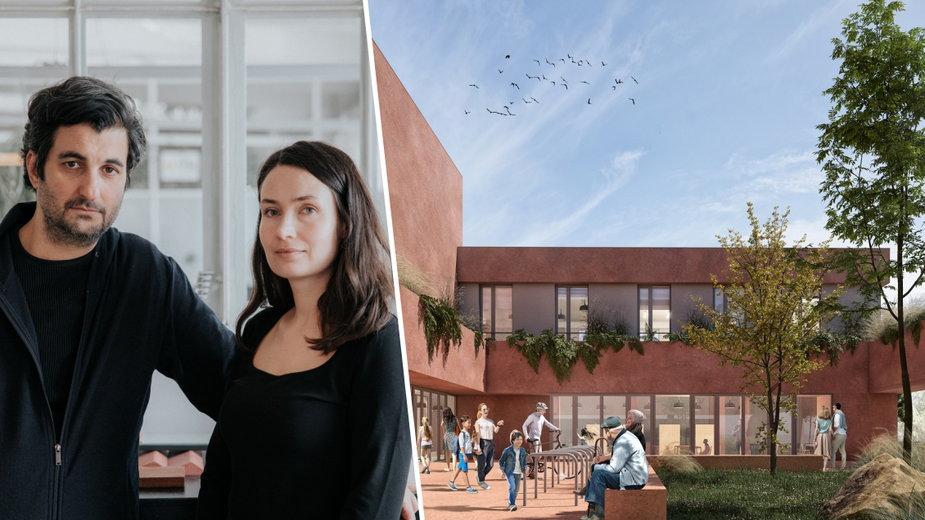 Warszawa: zbudują szkołę bez ogrodzenia. Co na to jej twórcy?