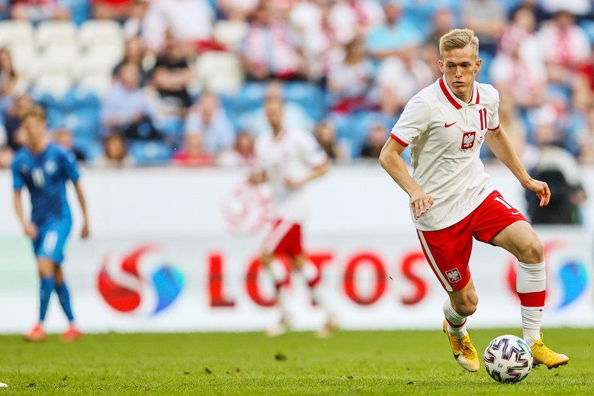 Błysnął w meczu z Islandią.