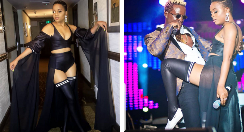 Willy Paul and Nandy .Video of Willy Paul and Nandy raunchy dance causes a stir