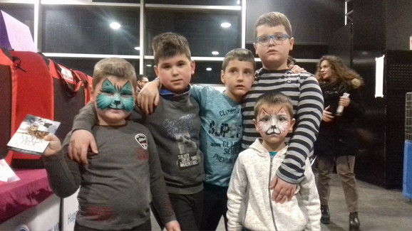 Mali mačkoljupci: Sinovi Marije Jovanović su oduševljeni festivalom