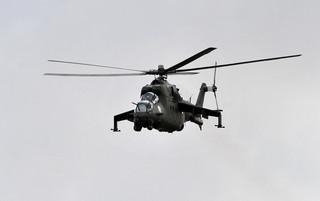 Rosyjski śmigłowiec bojowy rozbił się w Syrii, dwóch zabitych