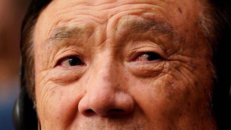 Ren Zhengfei closeup