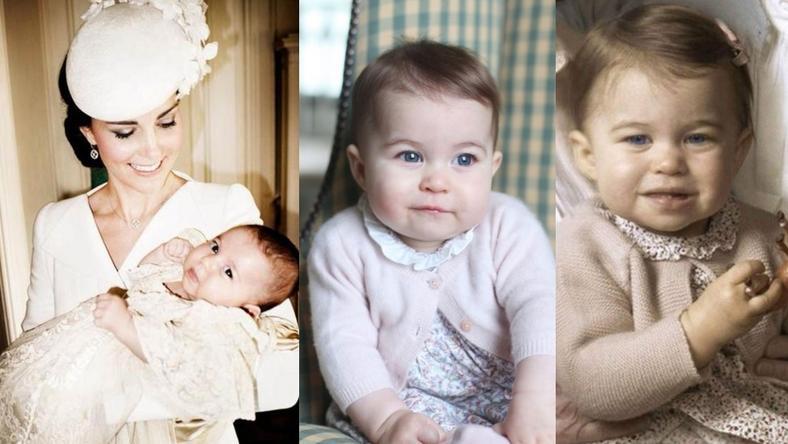 Pierwsze urodziny księżniczki Charlotte
