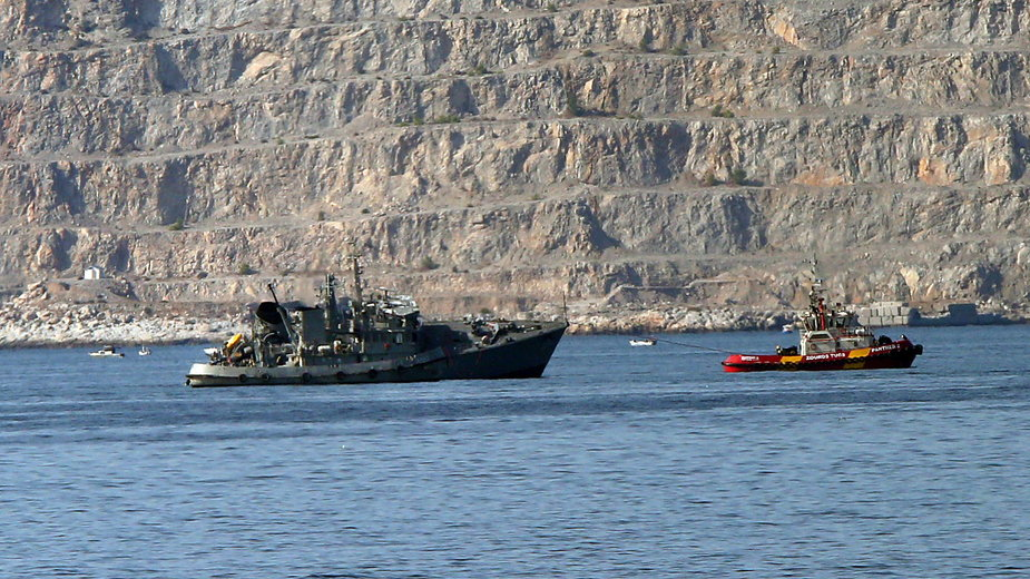 """Akcja ratunkowa grackiego okrętu """"Kallisto"""""""