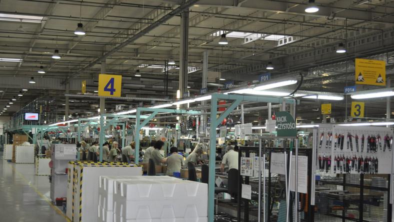 Fabryka w Żyrardowie powstała w 1998. Zatrudnia, w zależności od poziomu produkcji od 500 do 1200 osób