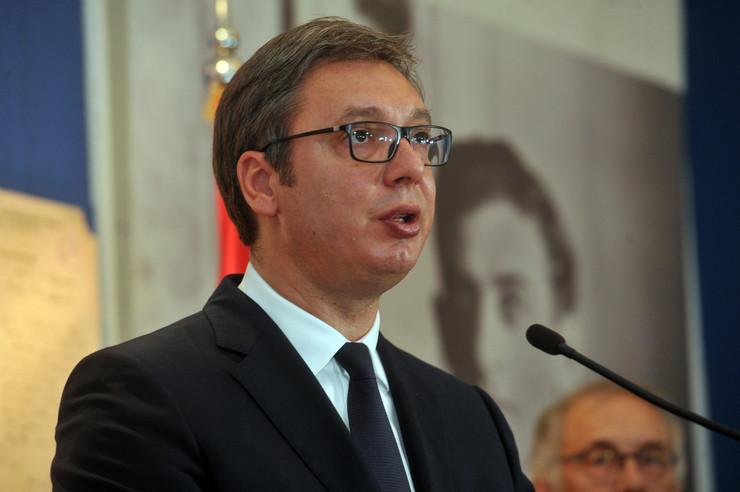 Aleksandar Vučić, Kajl Skot, Arhiv Srbije, Izložba