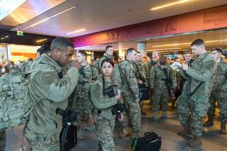 Pierwsi amerykańscy żołnierze już w Polsce. To część pancernej brygady, która wzmocni wschodnią flankę NATO