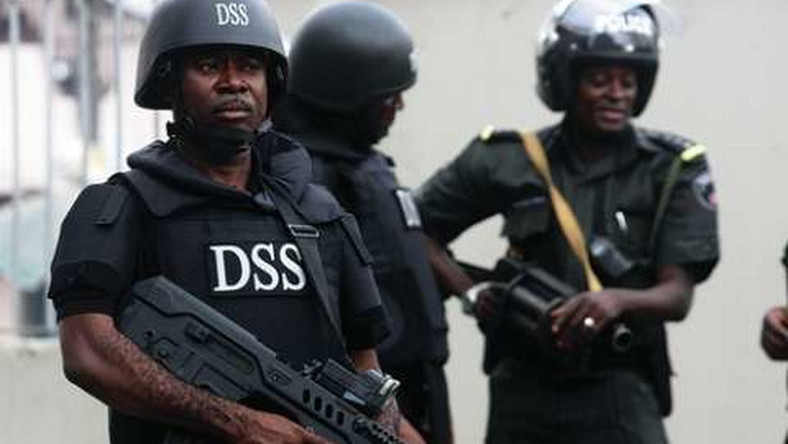 An illustrative picture of Department of State Services (DSS) operatives [Punch]