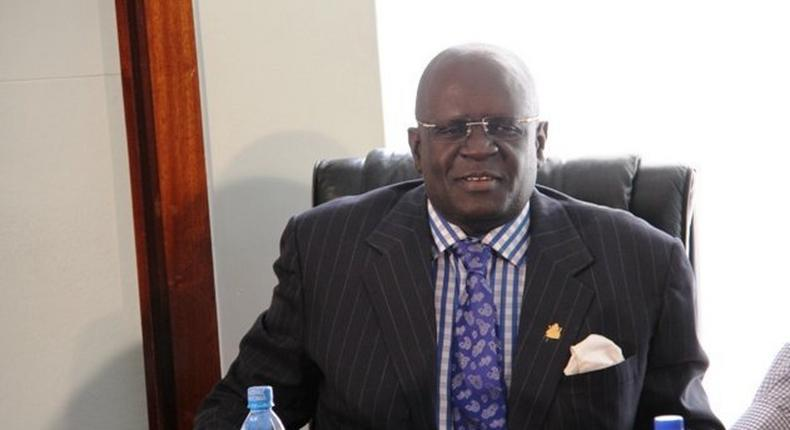 Professor George Magoha, nominee for the Education Cabinet Secretary position left vacant after Cabinet reshuffle